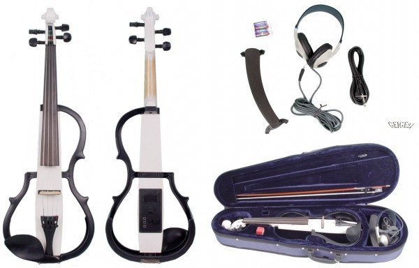 E-Violinset GEWA Line mit E-Violine Weiß