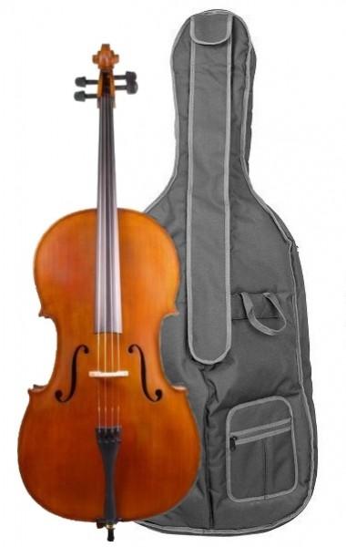Cello Concierto im Set mieten mit Tasche Bogen 1/2 Größe