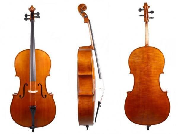 Cellogarnitur Set MELODIA - das Edle 1/2 Größe