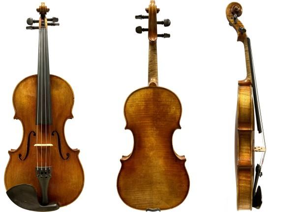 Geige 4/4 Stradivari-Modell Atelier Walter Mahr 2018 10-11-1