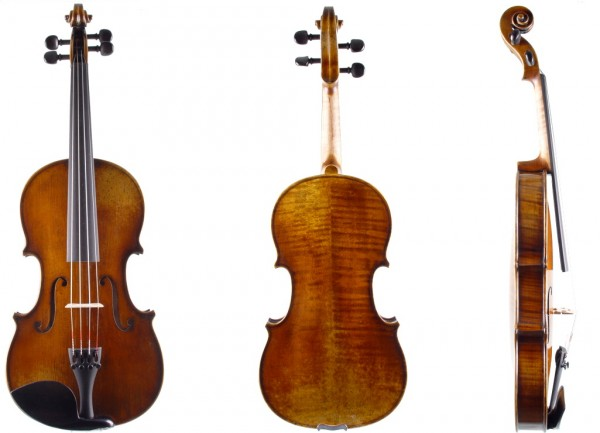 Set: Violine von Walter Mahr Stradivari-Modell 02-11