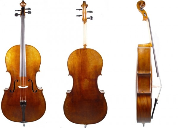 Cello-Mahr-Einsteigermodell-4/4-Größe-1