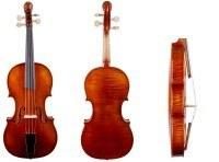 Feine Löwenkopf Barock-Geige Meisterarbeit von Walter Mahr