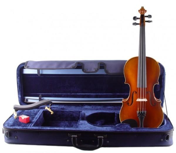 Geigenset: Violine von Mahr Bogen Koffer Kun Stütze