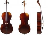 Cello im Set aus Bubenreuth 2018, Stradivari-Modell, 4/4-12-06