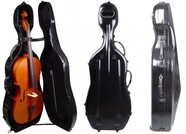 Celloset 7/8 Cello Concierto - starker Klang mit Koffer, Bogen