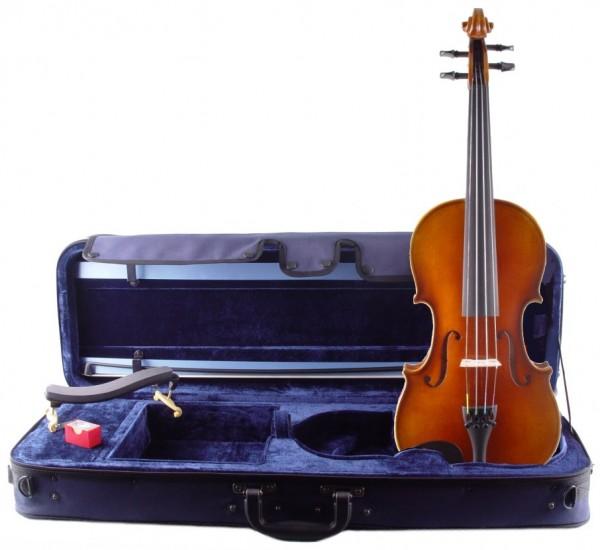 Geigenset mit Violine von Mahr 2017 Bogen Koffer Schulterstütze