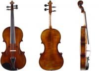 Geigenset mit 4/4 Violine Walter Mahr Koffer Bogen Schulterstütze