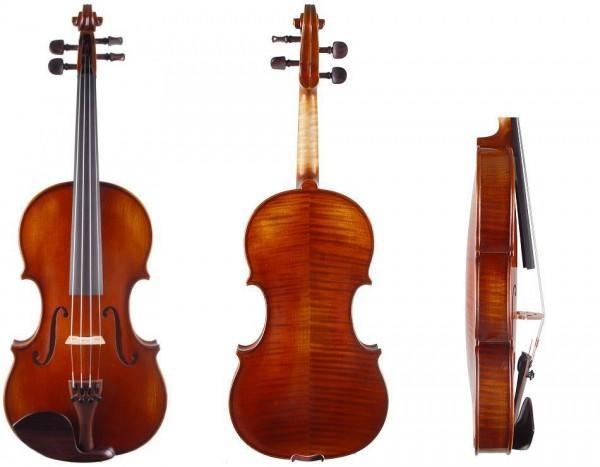 Atelier Geige mit fantastischem Klangholz