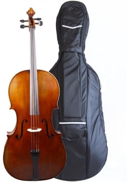 Set mit Cello von Walter Mahr Tasche Bogen