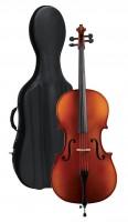 Gewa Celloset Europa: Cello Etui Bogen 3/4 Größe