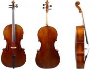 Cello aus Bubenreuth 2017, Stradivari - Modell, 4/4-Größe