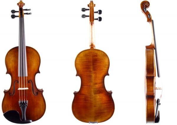 Geige 4/4 Stradivari-Modell Atelier Walter Mahr 2018 05-22-1