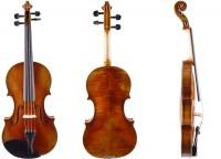 Set mit Geige von Walter Mahr Etui Bogen Rosin