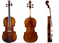 Set: Viola Walter Mahr 40,5 cm mit Etui Bogen