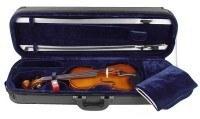 3/4 Geigenset Concierto mit Etui Bogen Schulterstütze