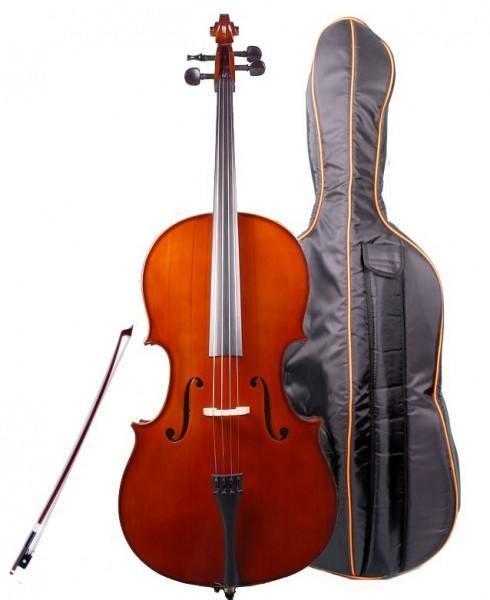 GEWA Celloset Allegro Tasche Bogen Harz 4/4 Größe