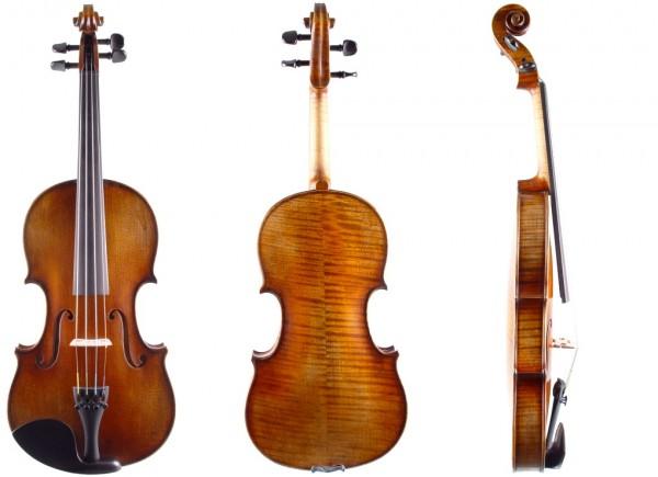 Geige 4/4 Stradivari-Modell Atelier Walter Mahr 2018 12-09-1