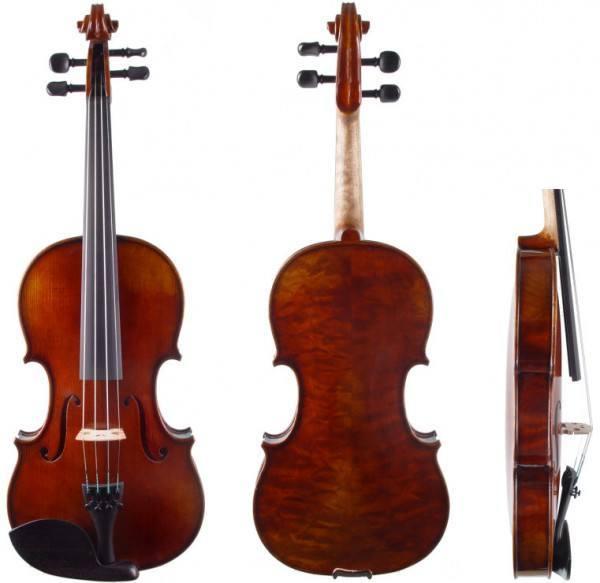 Meistervioline - schönes Klangholz W. Mahr 2013 Stradivari-Modell