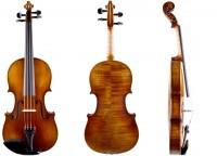 Violine von Walter Mahr im Set mit Bogen Koffer