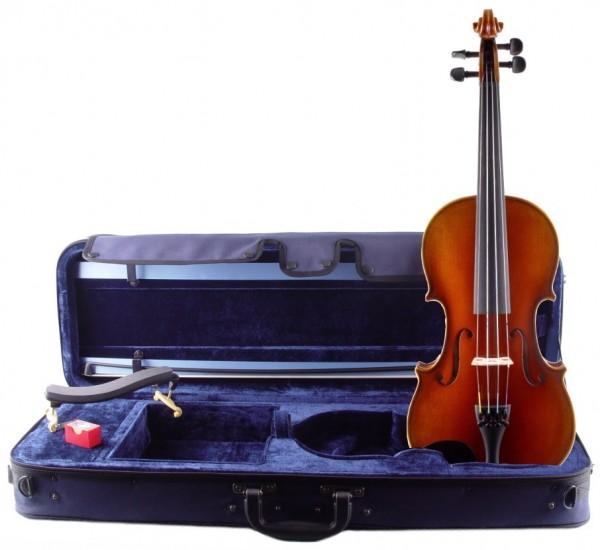 Violinset: Violine Walter Mahr 2017 Bogen Koffer Schulterstütze-Copy