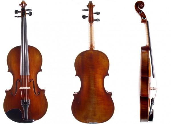 Set mit Violine von Walter Mahr Koffer Bogen
