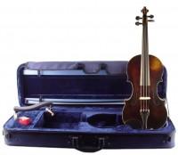Violine im Set Guarneri Modell Etui Bogen Kun Rosin
