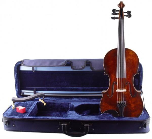 5-saitige Geige mit tiefer C-Saite - Quinton im Set