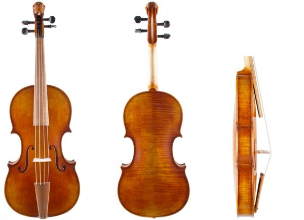Barockgeige mit Löwenkopf bei Geige24-1