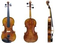 Geige 4/4 Stradivari-Modell Atelier Walter Mahr 2018 02-15