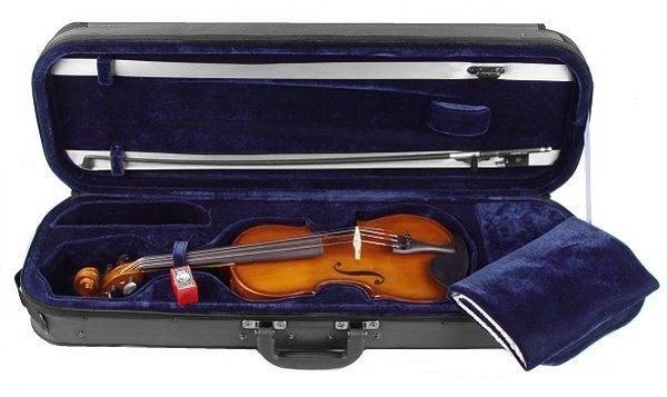 Geigenset Concierto mit Etui Bogen Schulterstütze 4/4 Größe