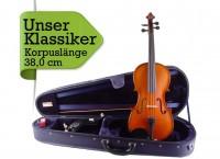 Violaset: Bratsche mit Etui Bogen Schulterstütze 38,0 cm