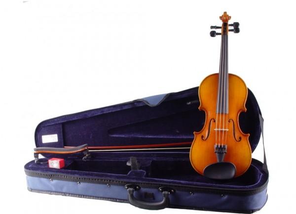 Geigenset: Geige Walter Mahr Atelier Etui Holzbogen 3/4 Größe