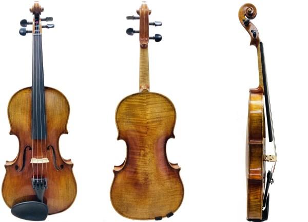 Geige von Walter Mahr Deutschland anno 2021-1