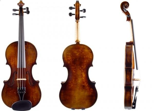 Geige 4/4 Stradivari-Modell Atelier Walter Mahr 2017 12-03-1