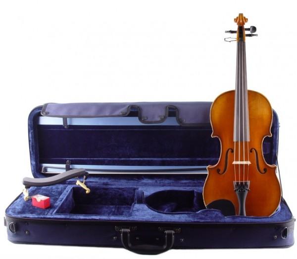 Angebot: Violine von Walter Mahr im Set mit Bogen, Koffer, Marken-Schulterstütze