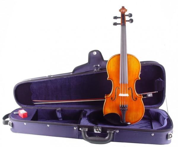 Violine Alosa im Set 4/4 Größe, warmer voller Klang