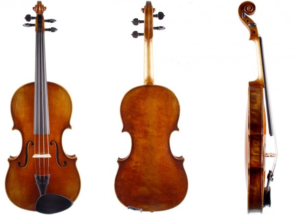 Geige für Linkshänder Meisterqualität von Walter Mahr-1