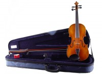 Schnäppchen 3/4 Geigenset mit Geige Walter Mahr Etui Bogen
