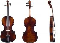 Geigenset mit Violine Walter Mahr 01-26 Bogen Koffer Schulterstütze