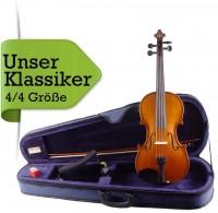 Geigenset 4/4 Größe mit Etui Bogen Schulterstütze