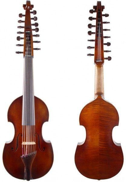 Viola d'Amore von Walter Mahr von 2007 7-saitig