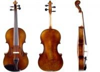 Set mit Geige von Walter Mahr Bogen Etui
