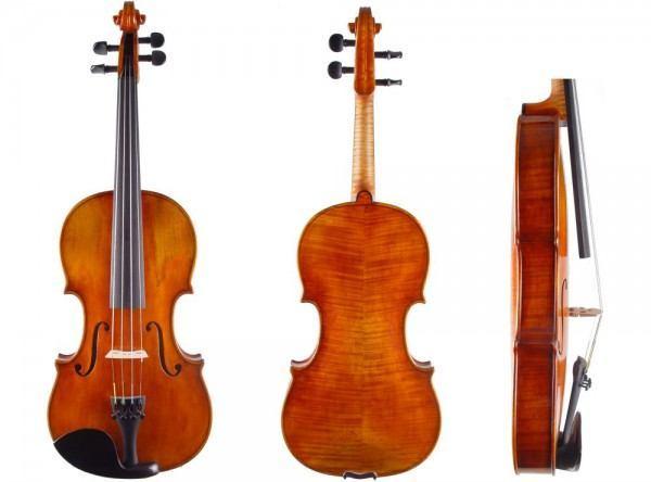 Geige italienisch alt imitiert, Walter Mahr Bubenreuth 2013