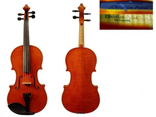 Geige von Christian Pabst Modell \ Il Cremonese\ Öllack