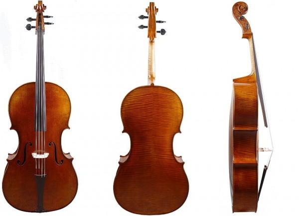 Barockcello von Walter Mahr, gehobenes Meisterinstrument-3
