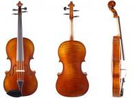Set: Viola aus der Werkstatt Walter Mahr 39,5 cm 2016 mit Etui Bogen Stütze