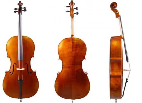 Cello aus Bubenreuth 2019, Stradivari-Modell, 4/4-02-14-1