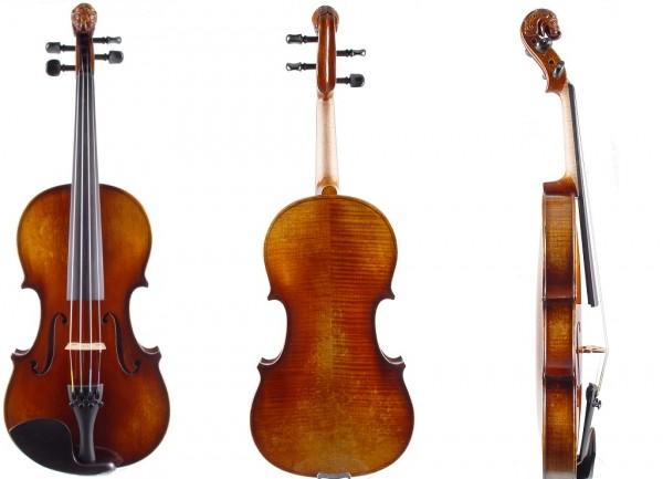 Geige Atelier Walter Mahr Bubenreuth 2018 Löwenkopf-1