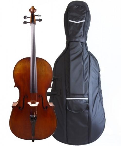 Cello - Walter Mahr im Set mit gepolsterter Tasche, Carbondix*** Bogen